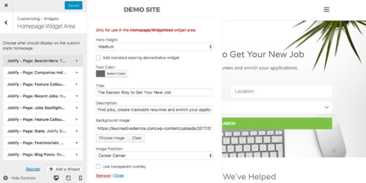 customizing-homepage